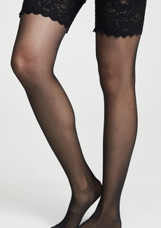 Wolford Satin Touch 20 Stay Up Tights