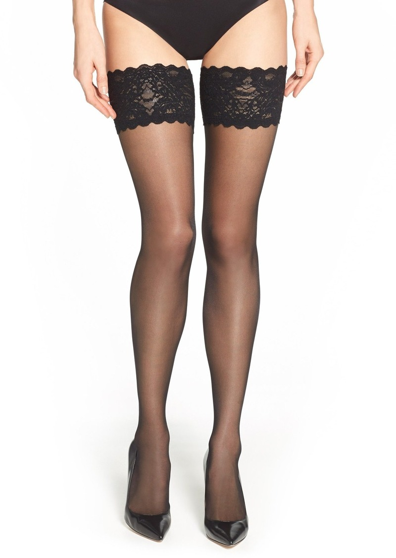 Wolford 'Satin Touch 20' Thigh High Stay Up Stockings