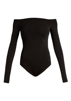 Wolford Sheen Light off-the-shoulder body