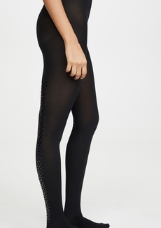 Wolford Snake Shimmer Back Seam Tights