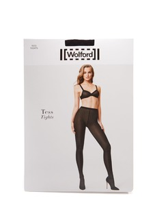 Wolford Tess semi-opaque jacquard tights