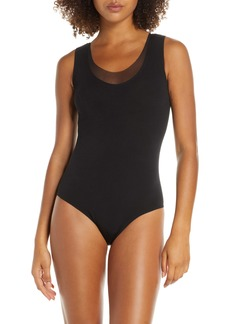 Wolford Tulle Thong Bodysuit