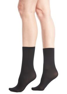 Wolford Velvet Semisheer Socks