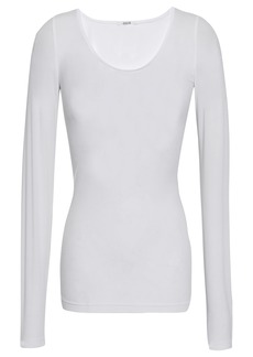Wolford Woman Buenos Aires Stretch-knit Top White