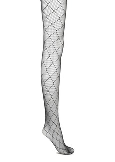 Wolford Woman Chrissie Fishnet Tights Black