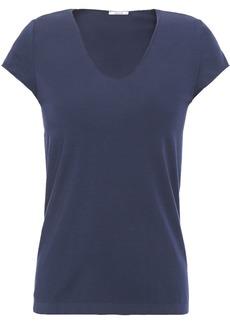 Wolford Woman Honolulu Modal-blend Jersey T-shirt Navy