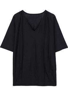 Wolford Woman Olivia Wool And Silk-blend Top Black