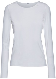 Wolford Woman Pure Stretch-modal Jersey Top White