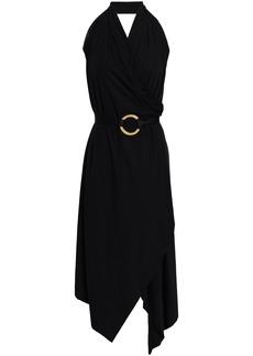 Wolford Woman Stretch-modal Jersey Halterneck Dress Black