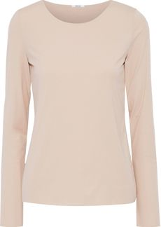 Wolford Woman Stretch-modal Jersey Top Neutral