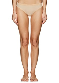 Wolford Women's Tanga Mesh High-Waist Briefs