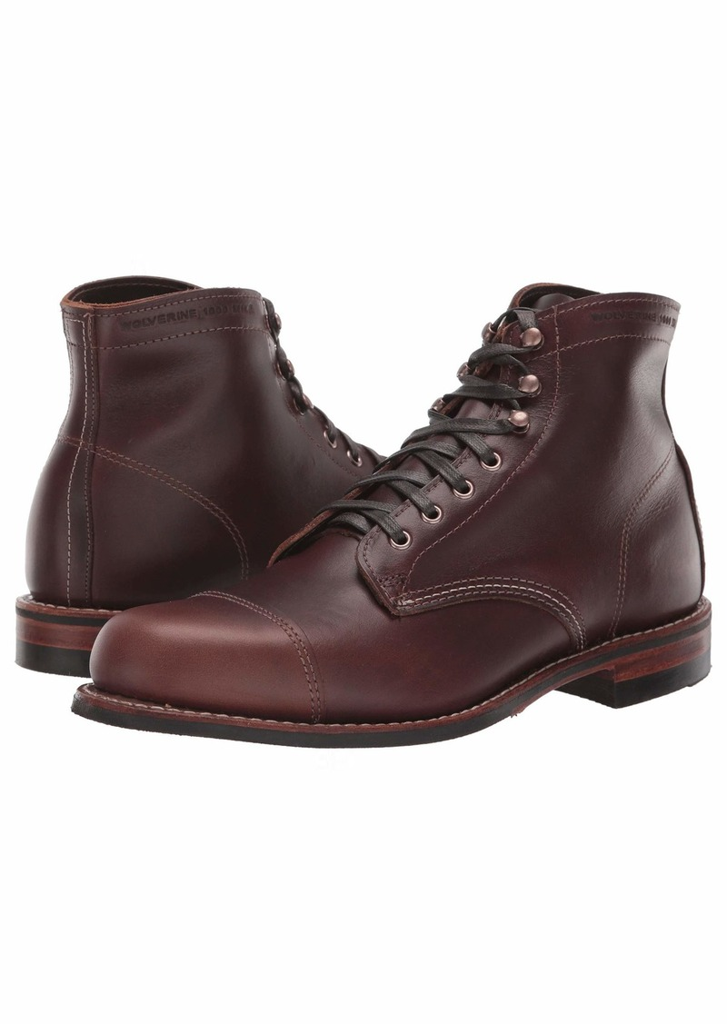 "Wolverine 1000 Mile 6"" Cap Toe Boot"