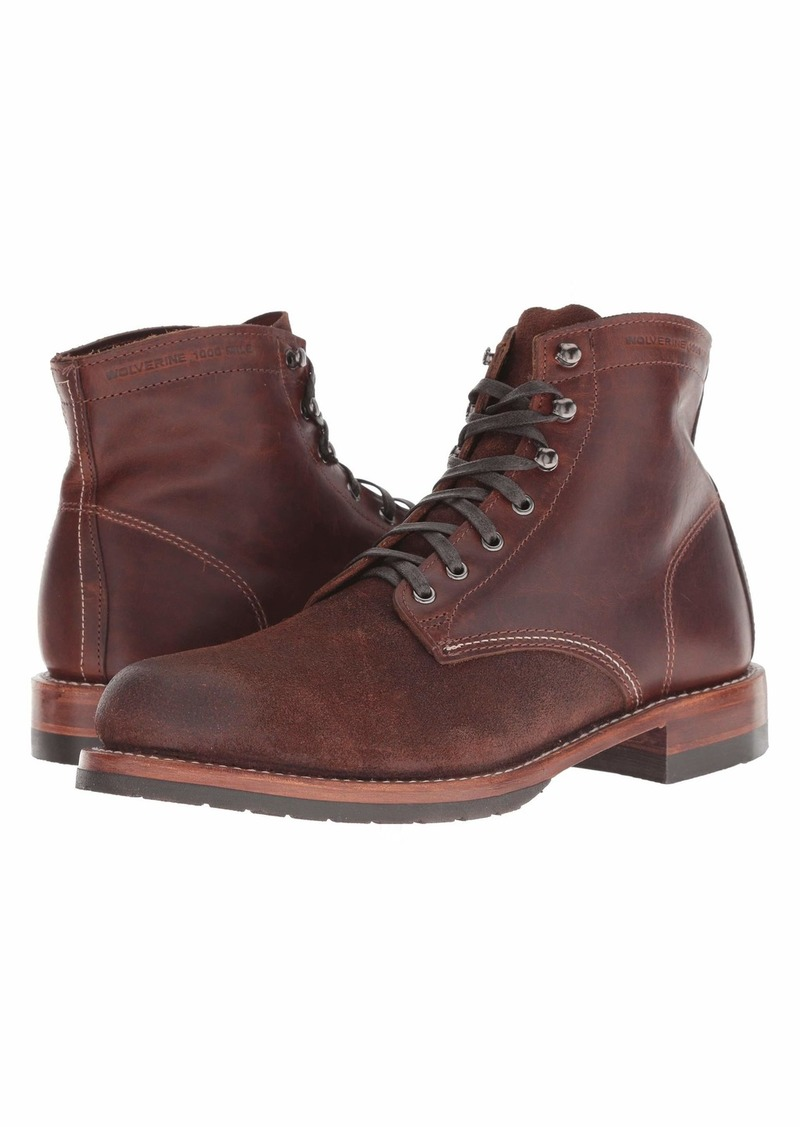 "Wolverine 1000 Mile 6"" Evans Boot"