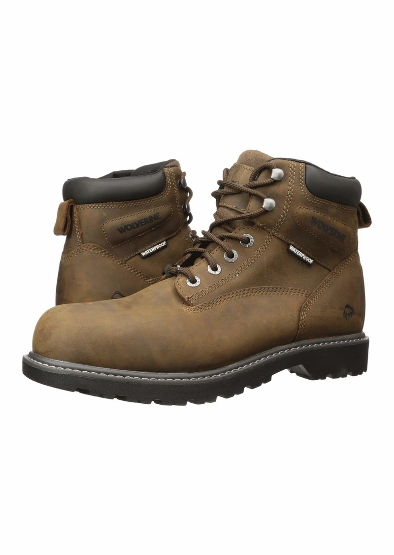 "Wolverine Floorhand Steel Toe Puncture Resistant 6"" Boot"