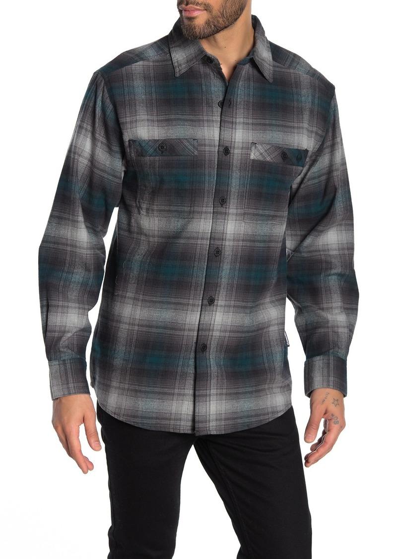 Wolverine Grayson Plaid Flannel Regular Fit Shirt