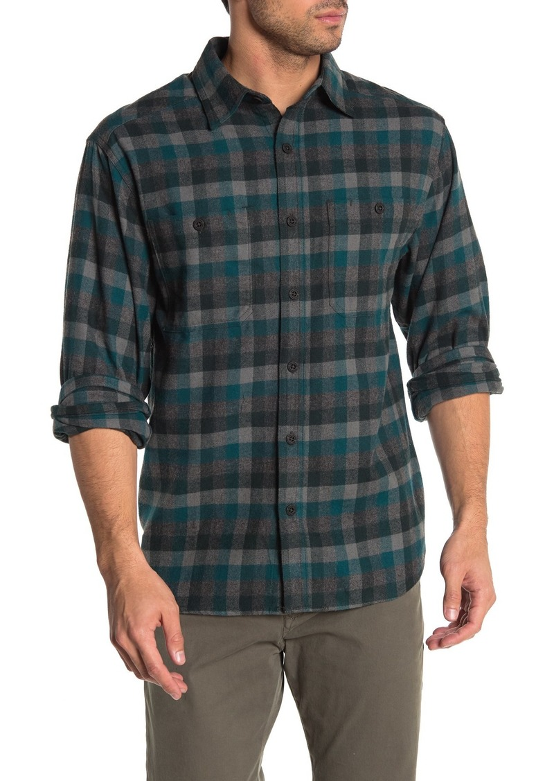 Wolverine Legend Plaid Flannel Regular Fit Shirt