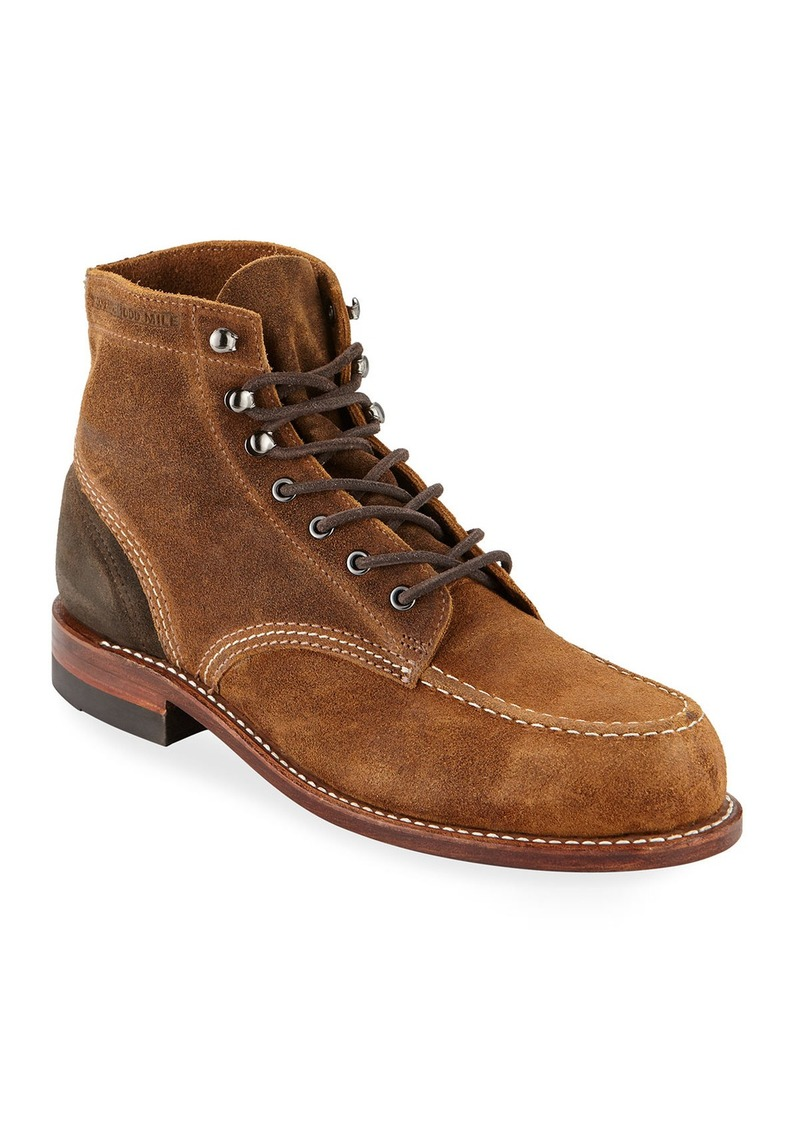 Wolverine Men's 1000 Mile Rugged Waxy Suede Boots