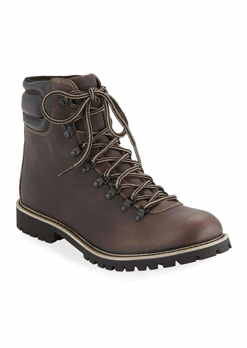 e12338bdc6d Men's Waterproof Leather Hiking Boots