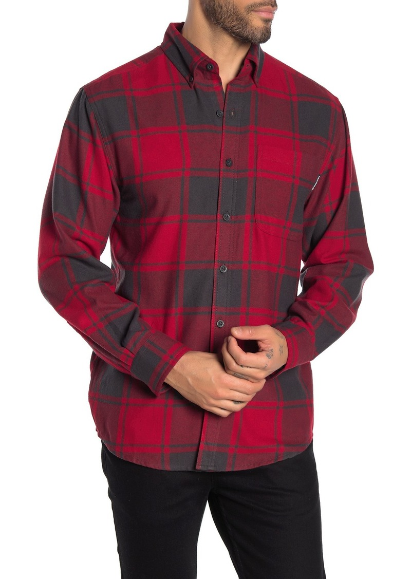 Wolverine Pike Plaid Flannel Regular Fit Shirt