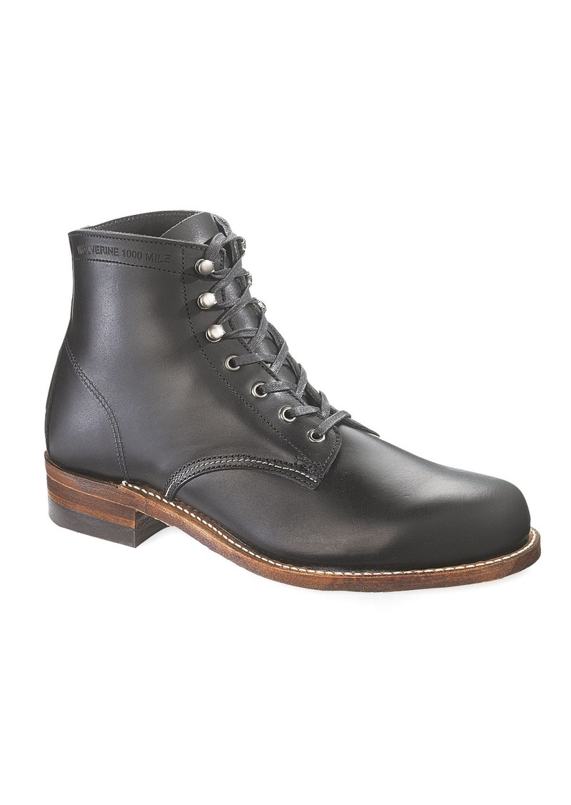 Wolverine 1000 Mile Boot  Black