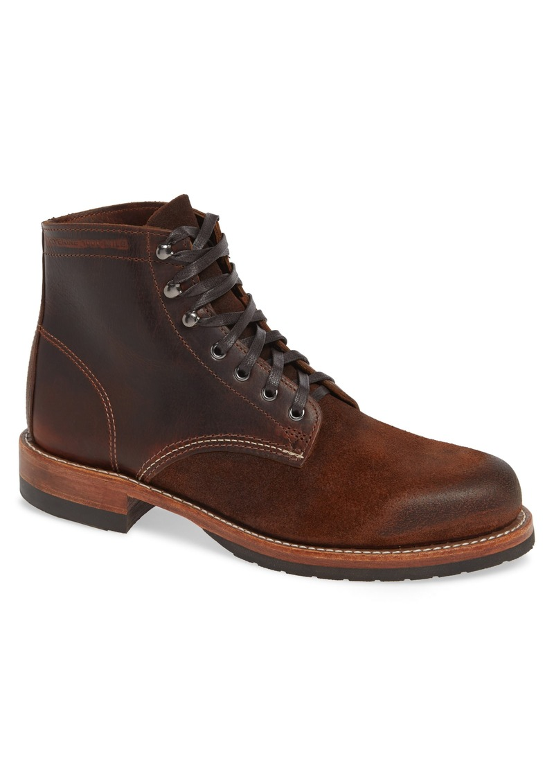 Wolverine 1000 Mile Evans Plain Toe Boot (Men)