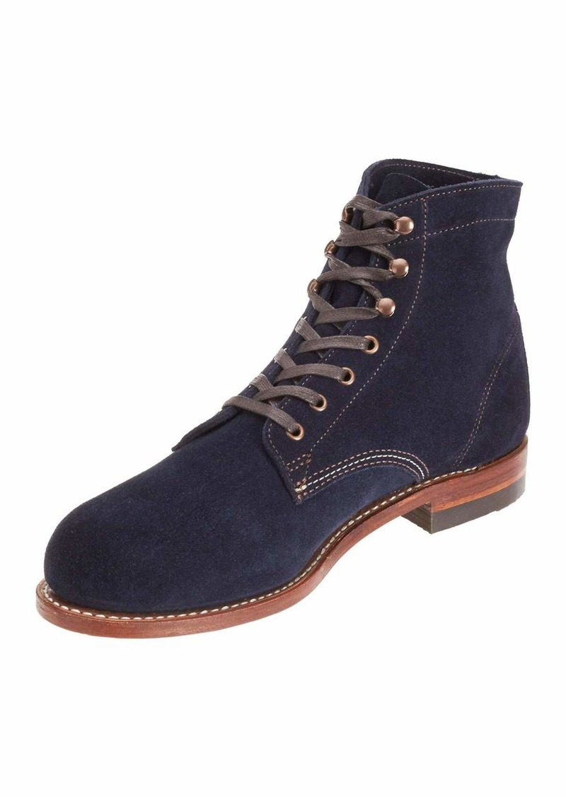 fcee320cf19 1000 Mile Suede Boots Navy