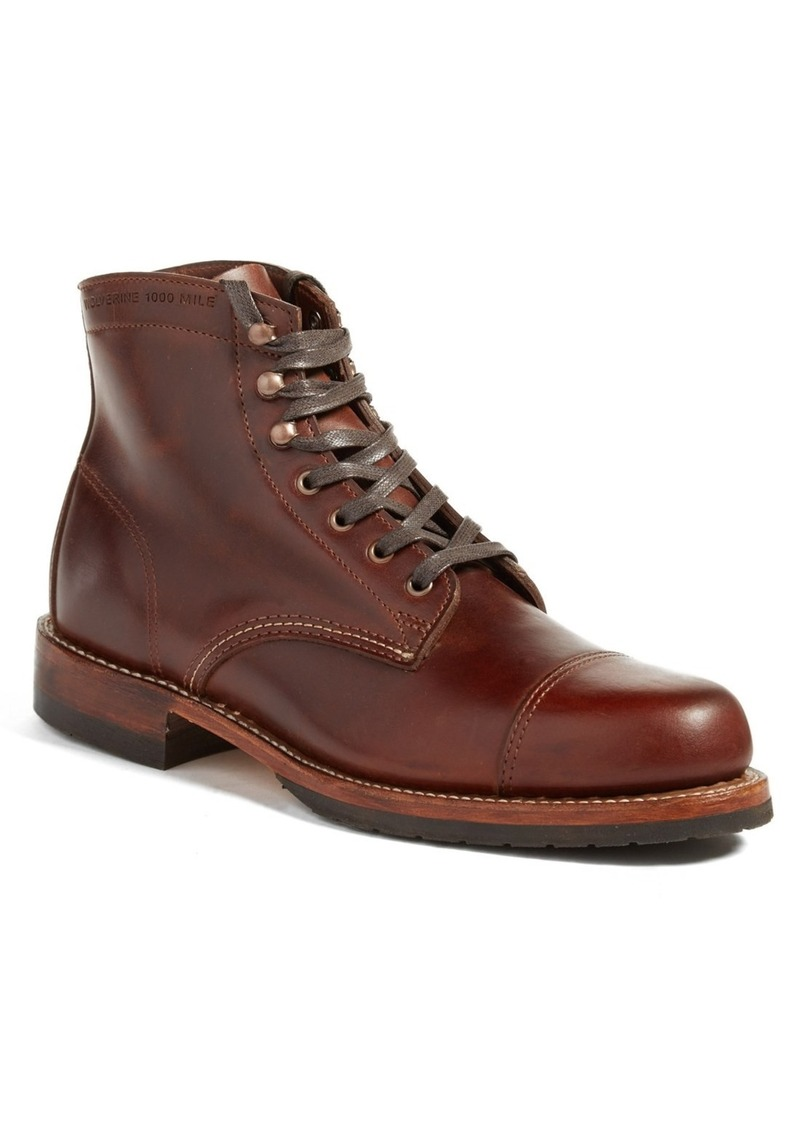 On Sale today! Wolverine Wolverine  Adrian  Cap Toe Boot (Men) 390ca96c772
