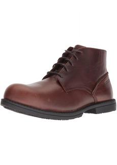 Wolverine Men's Bedford Steel-Toe Chukka SR Industrial Boot  7 Extra Wide US