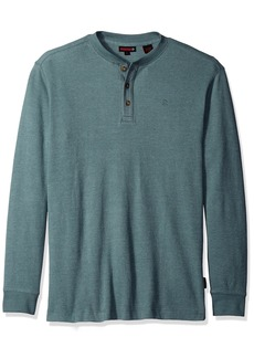 Wolverine Men's Big-Tall Walden Long Sleeve Blended Thermal 3 Button Henley Shirt  Large
