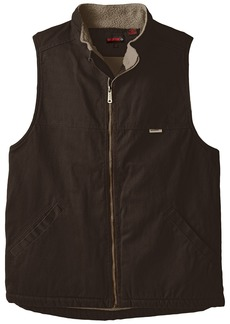 Wolverine Men's Big-Tall Upland Rugged Twill Sherpa Lined Vest  2X-Large