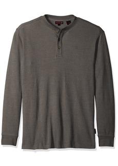 Wolverine Men's Big Walden Long Sleeve Blended Thermal 3 Button Henley Shirt