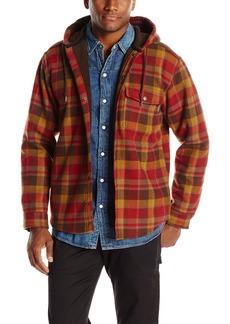 Wolverine Men's Bucksaw Duralock Bonded Micro-Fleece Hooded Shirt Jacket  2X-Large