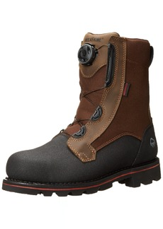 "WOLVERINE Men's Drillbit Oil Rigger Waterproof BOA Steel-Toe 8"" Work Boot   M US"