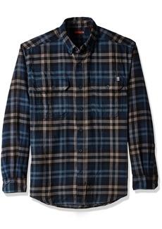 Wolverine Men's Escape Long Sleeve Technical Flannel Shirt  2X-Large