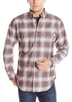 Wolverine Men's Flame Resistant Plaid Twill Shirt