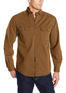 Wolverine Men's Fletcher Soft and Rugged Twill Long Sleeve Shirt  2X-Large