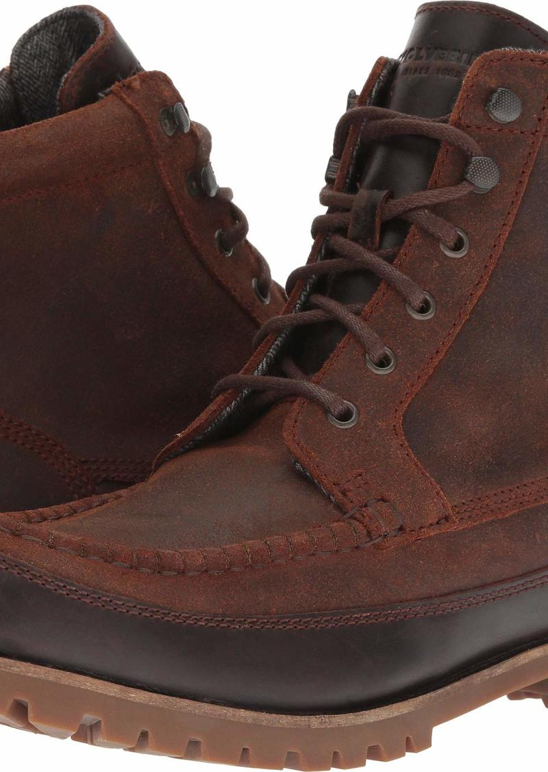 "Wolverine Men's Gainor 6"" Waterproof Moc Toe Boot Winter   M US"