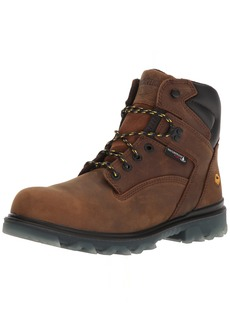 """Wolverine Men's I-90 Waterproof Composite-Toe 6"""" Construction Boot  9 Extra Wide US"""