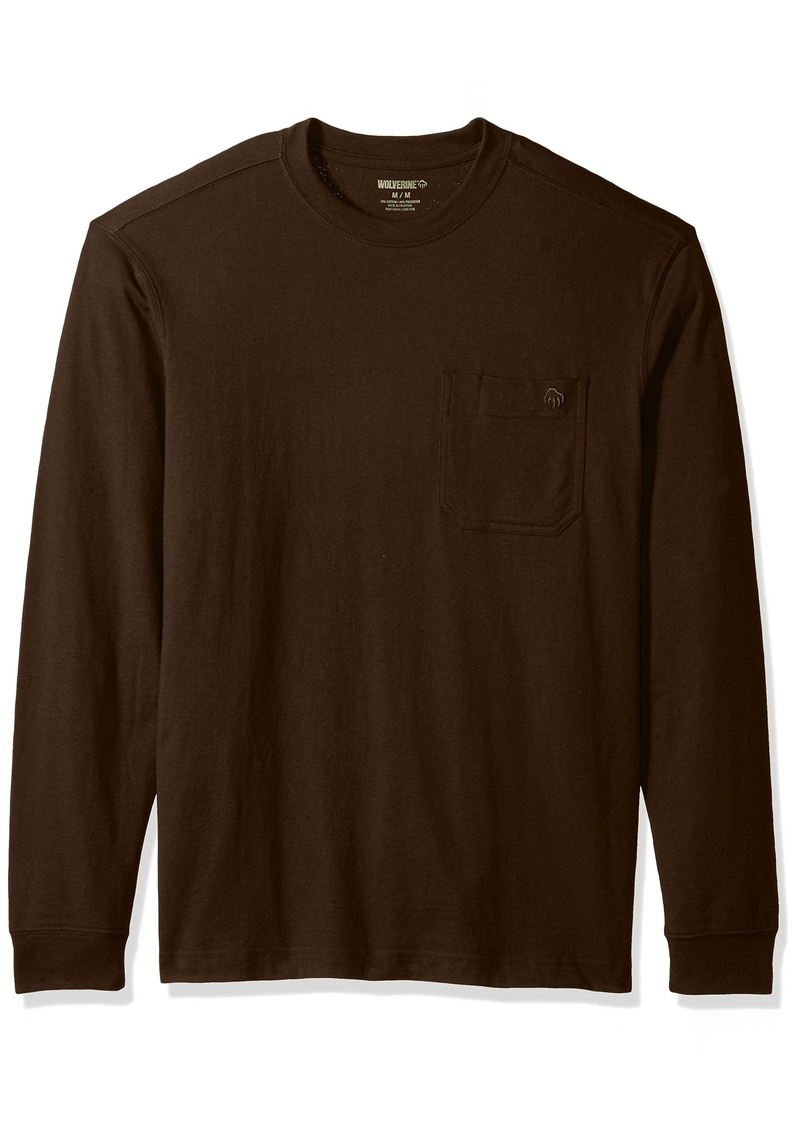 e29ec6f2bd6e16 On Sale today! Wolverine Wolverine Men s Knox Long Sleeve Pocketed ...