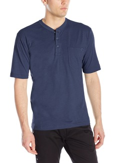 Wolverine Men's Knox Short Sleeve Pocketed Wicking Henley