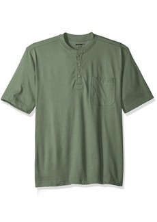 Wolverine Men's Knox Wicking Pocketed Short Sleeve Henley T-Shirt  2X-Large