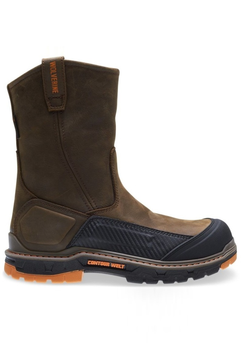 "Wolverine Men's Overpass 10"" Soft Toe Waterproof Work Boot   M US"