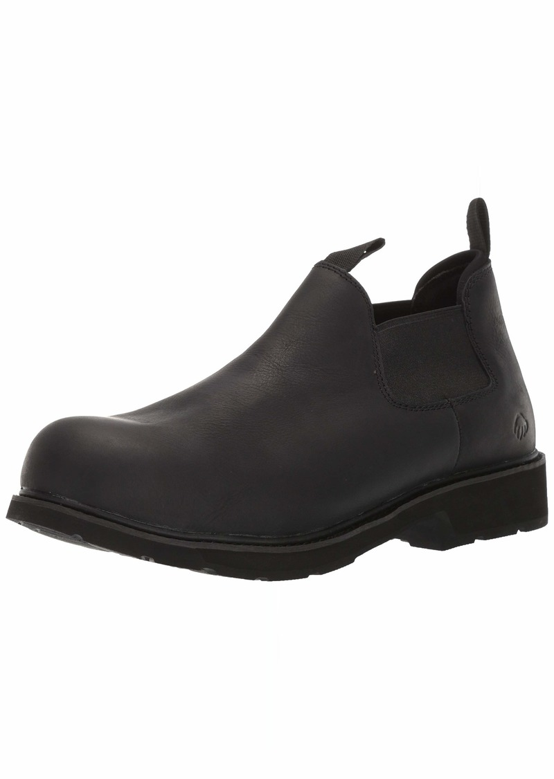 Wolverine Men's Ranchero Romeo Steel Toe Industrial Shoe Pull-On Slate 11.5 Extra Wide
