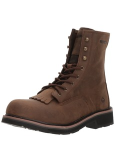 "Wolverine Men's Ranchero Steel-Toe 8"" Construction Boot  7 Extra Wide US"