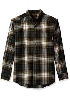 Wolverine Men's Rogan Long Sleeve Flannel Shirt  Large