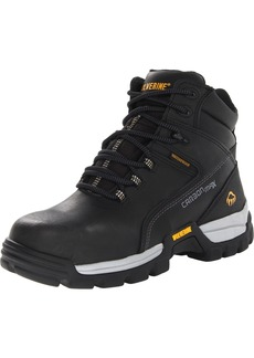 "WOLVERINE Men's Tarmac Waterproof Reflective Composite-Toe 6"" Work Boot   M US"