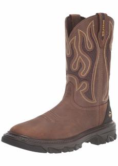 Wolverine Men's W10915 Ranch King Industrial Shoe tan 9.5 XW US