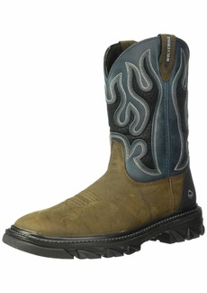 8de606014a3 Wolverine Men's W10930 Ranch King Industrial Shoe brown XW US