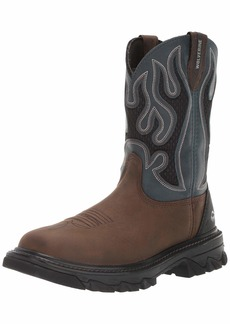 Wolverine Men's Ranch King cm Industrial Shoe Brown 7 Extra Wide US