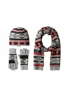 Woolrich Beanie Scarf Gloves Set